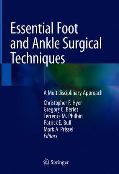 Cover of the book Essential Foot and Ankle Surgical Techniques