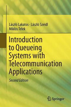 Couverture de l'ouvrage Introduction to Queueing Systems with Telecommunication Applications