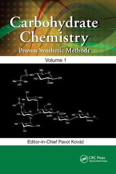 Couverture de l'ouvrage Carbohydrate Chemistry