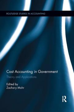 Cover of the book Cost Accounting in Government