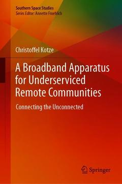 Couverture de l'ouvrage A Broadband Apparatus for Underserviced Remote Communities