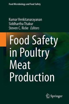 Cover of the book Food Safety in Poultry Meat Production