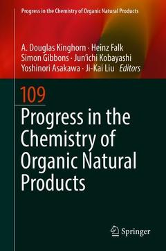 Couverture de l'ouvrage Progress in the Chemistry of Organic Natural Products 109