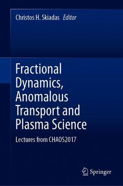 Cover of the book Fractional Dynamics, Anomalous Transport and Plasma Science