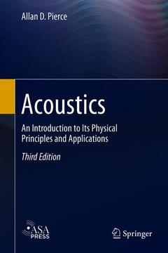 Couverture de l'ouvrage Acoustics