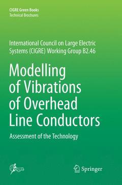 Couverture de l'ouvrage Modelling of Vibrations of Overhead Line Conductors