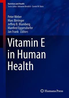 Couverture de l'ouvrage Vitamin E in Human Health