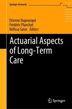 Cover of the book Actuarial Aspects of Long-Term Care