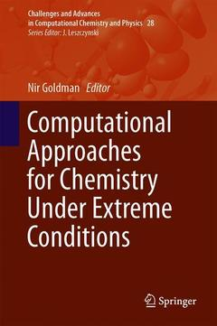 Couverture de l'ouvrage Computational Approaches for Chemistry Under Extreme Conditions