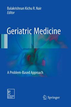 Couverture de l'ouvrage Geriatric Medicine