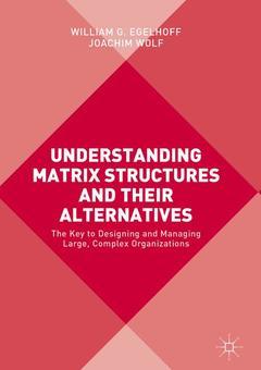 Couverture de l'ouvrage Understanding Matrix Structures and their Alternatives