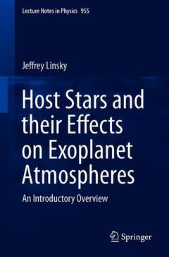 Cover of the book Host Stars and their Effects on Exoplanet Atmospheres