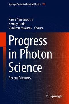 Couverture de l'ouvrage Progress in Photon Science
