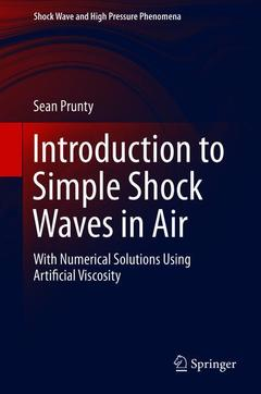 Cover of the book Introduction to Simple Shock Waves in Air