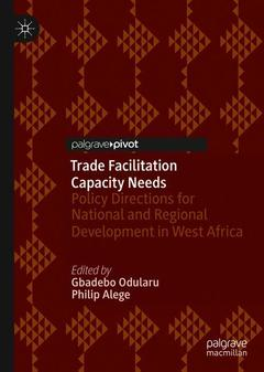 Cover of the book Trade Facilitation Capacity Needs