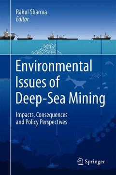 Cover of the book Environmental Issues of Deep-Sea Mining