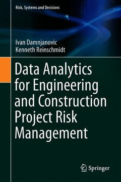 Cover of the book Data Analytics for Engineering and Construction Project Risk Management