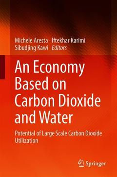 Cover of the book An Economy Based on Carbon Dioxide and Water
