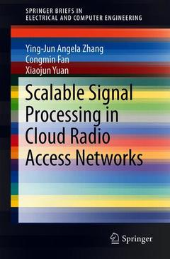 Couverture de l'ouvrage Scalable Signal Processing in Cloud Radio Access Networks