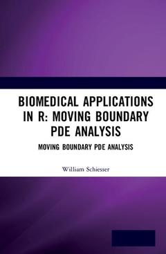 Couverture de l'ouvrage Moving Boundary PDE Analysis