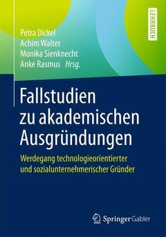 Couverture de l'ouvrage Die akademische Gründung