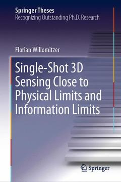 Cover of the book Single-Shot 3D Sensing Close to Physical Limits and Information Limits