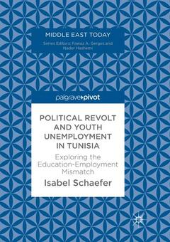 Couverture de l'ouvrage Political Revolt and Youth Unemployment in Tunisia