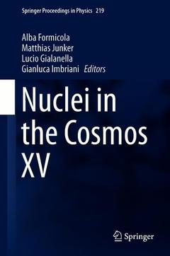 Cover of the book Nuclei in the Cosmos XV