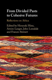 Couverture de l'ouvrage From Divided Pasts to Cohesive Futures