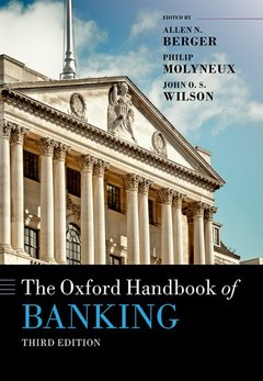 Couverture de l'ouvrage The Oxford Handbook of Banking, Third Edition