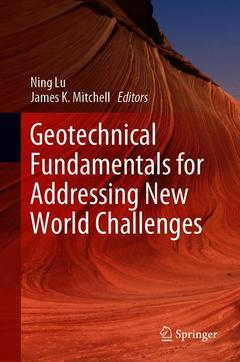 Couverture de l'ouvrage Geotechnical Fundamentals for Addressing New World Challenges
