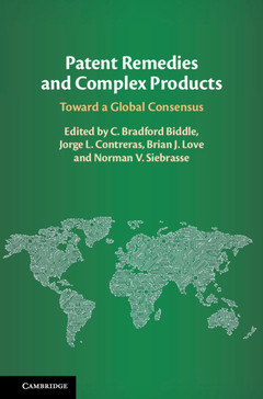 Cover of the book Patent Remedies and Complex Products