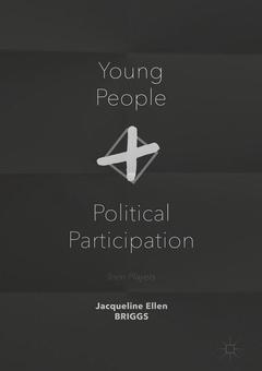 Couverture de l'ouvrage Young People and Political Participation