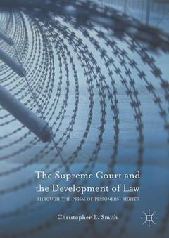 Cover of the book The Supreme Court and the Development of Law