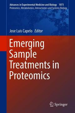 Cover of the book Emerging Sample Treatments in Proteomics