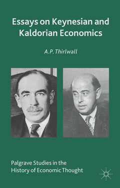 Cover of the book Essays on Keynesian and Kaldorian Economics