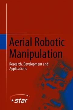 Cover of the book Aerial Robotic Manipulation