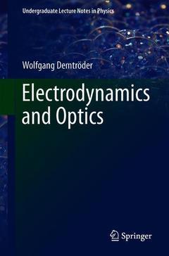 Couverture de l'ouvrage Electrodynamics and Optics