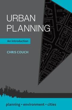 Couverture de l'ouvrage Urban Planning