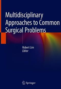 Cover of the book Multidisciplinary Approaches to Common Surgical Problems