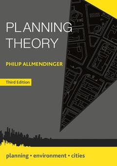 Couverture de l'ouvrage Planning Theory