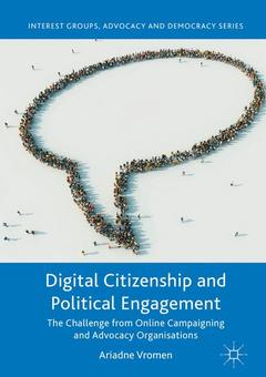 Couverture de l'ouvrage Digital Citizenship and Political Engagement