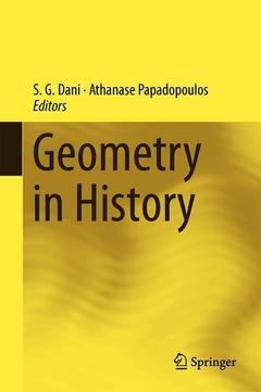 Couverture de l'ouvrage Geometry in History