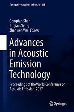 Cover of the book Advances in Acoustic Emission Technology