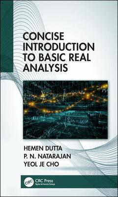 Couverture de l'ouvrage Concise Introduction to Basic Real Analysis