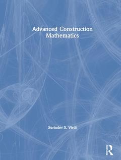 Cover of the book Advanced Construction Mathematics