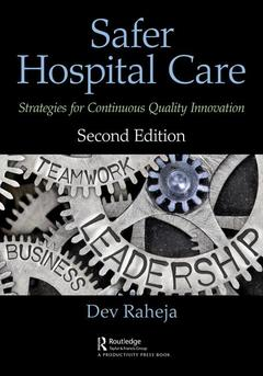 Cover of the book Safer Hospital Care