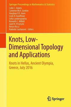 Couverture de l'ouvrage Knots, Low-Dimensional Topology and Applications