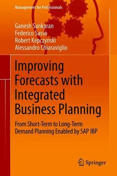 Couverture de l'ouvrage Improving Forecasts with Integrated Business Planning
