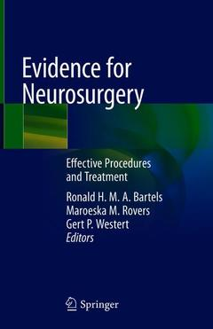 Cover of the book Evidence for Neurosurgery